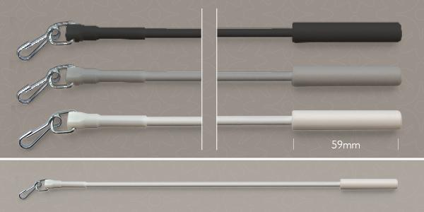 Plastic Coated Metal Draw Rod