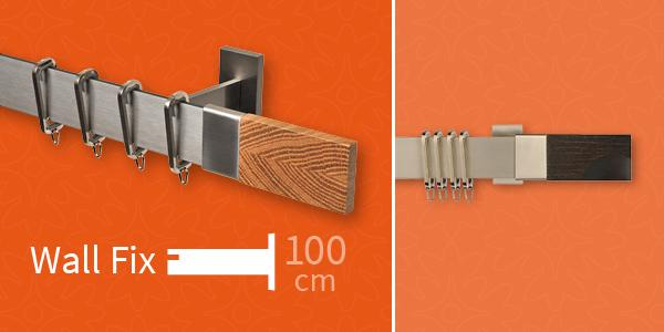 Complete Track Kit with 100mm brackets
