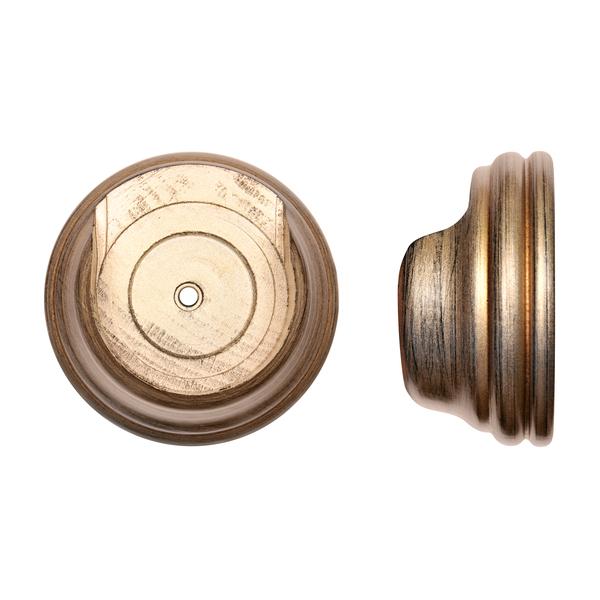 Renaissance Byzantine Bronze 50mm Duet Bracket