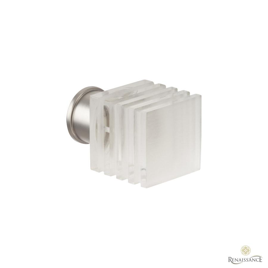 Titanium 35mm Spectrum Acrylic Cube Finial