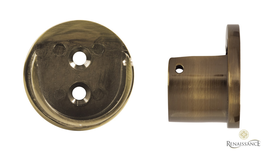 Antique Brass 50mm Spectrum Recess Bracket