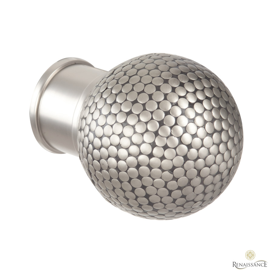 Titanium 50mm Spectrum Flat Dimple Ball Finial