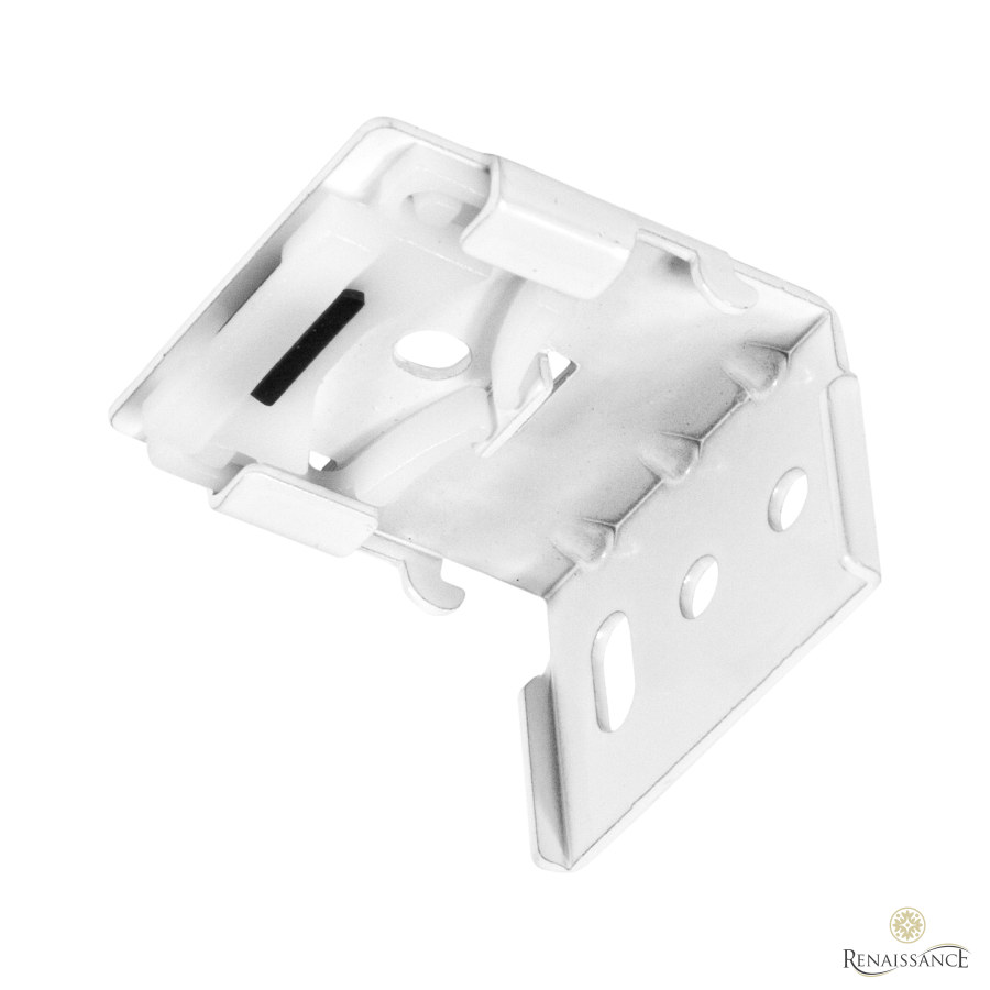 White Closed Cassette Click Brackets